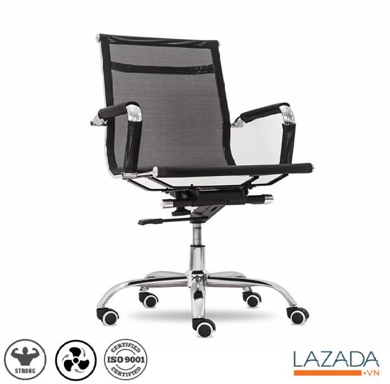 Ghế văn phòng chân xoay BOX011 - Thông thoáng - Sạch khuẩn giá rẻ