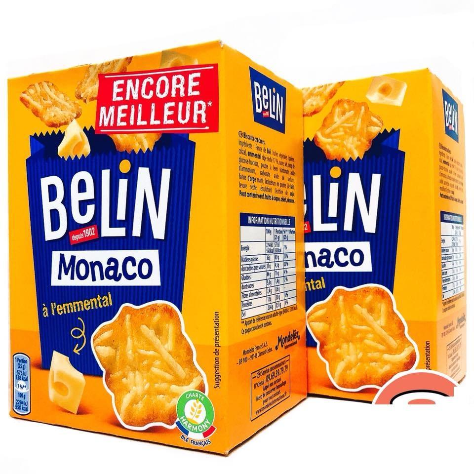 Hình ảnh Combo 2 Hộp Snack Phủ Phô Mai Sợi BELIN MONACO