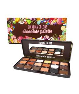 [HCM]Bảng Màu Mắt 18 ô SIVANNA COLORS The Sweetest & Chocolate Palette (Số 1) thumbnail
