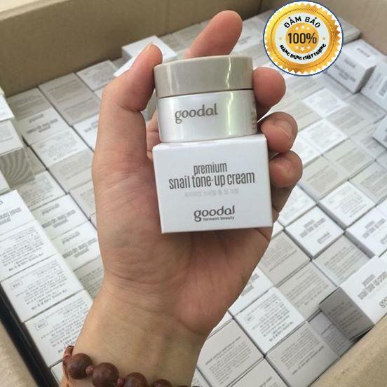 Kem dưỡng ốc sên Goodal Premium Snail Tone – Up Cream 10g tốt nhất