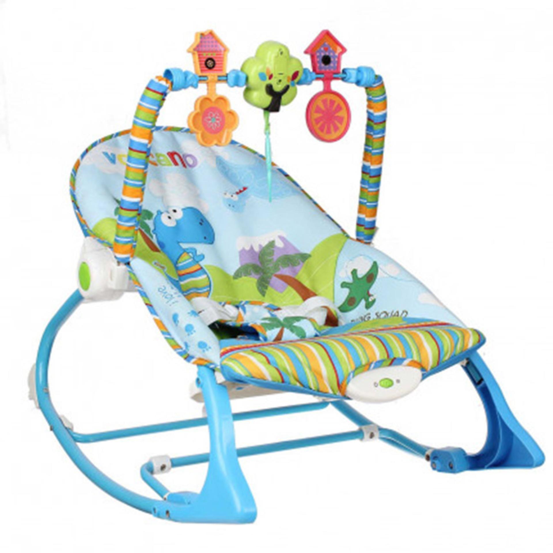 Ghế Nằm Dành Cho Trẻ Em Konig Kids Kk63562 - Dạng Rung Có Nhạc Và Thanh đồ Chơi Vận động By Lazada Retail Mastela.
