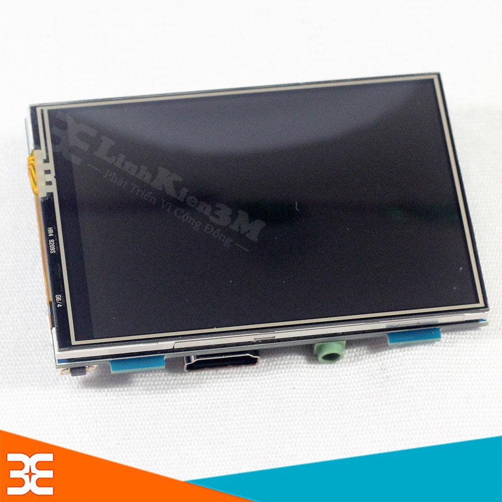 Màn Hình Raspberry Pi 3B+ / 3B 480X320 3.5 inch HDMI Cảm Ứng(BH 1 tháng)