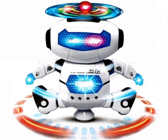 Hình ảnh Robot Thông Minh Biết Nhảy, Biết Hát