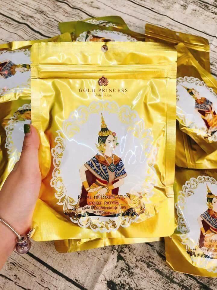 Hình ảnh Miếng dán thải độc chân Thái lan