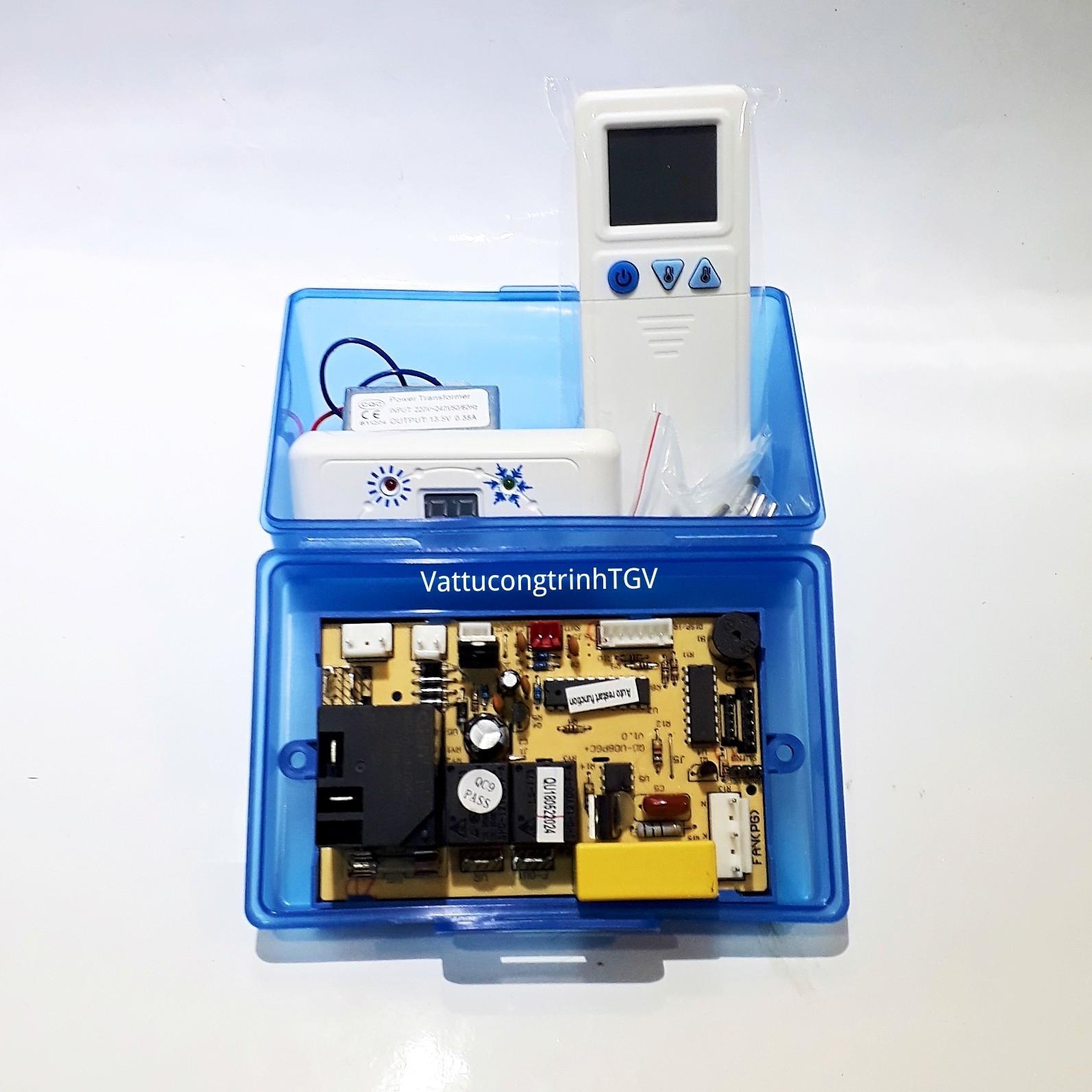 Mạch điều hòa đa năng QD-U08PGC (Hộp nhựa)