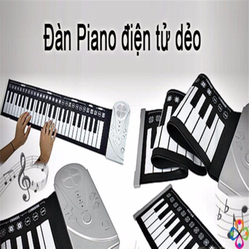 Mua Đan Piano Điện Tử Ban Phim Cuộn Dẻo 49 Keys Oem