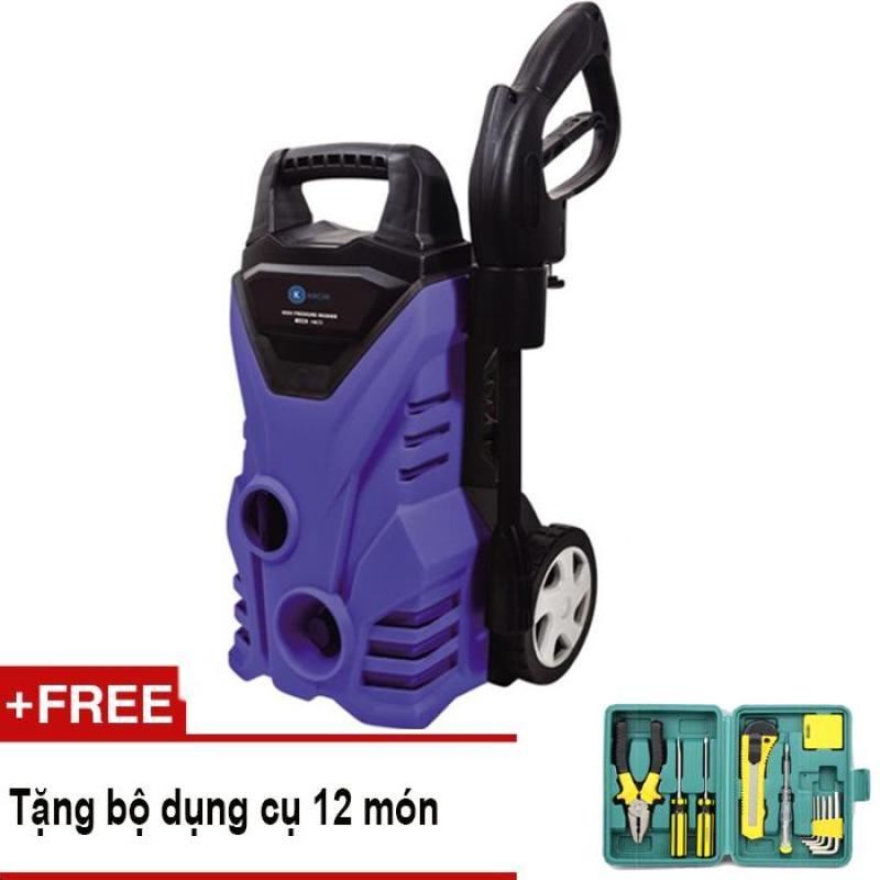 Máy rửa xe cao áp tự hút nước Kachi MK72 + Tặng bộ dụng cụ 12 món