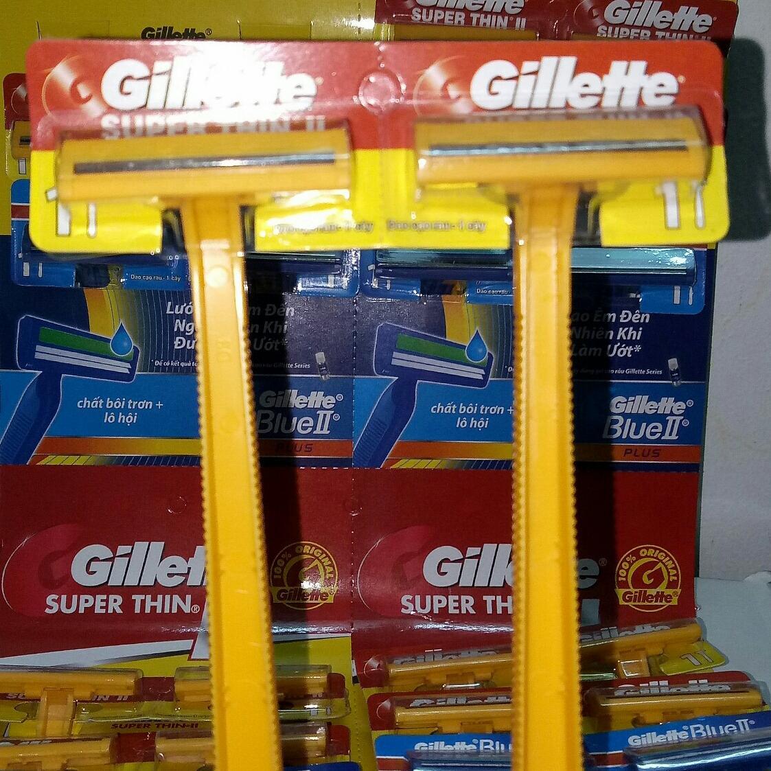 (GIÁ HỦY DIỆT) Set 6 Dao cạo râu lưỡi kép Gillette tốt nhất