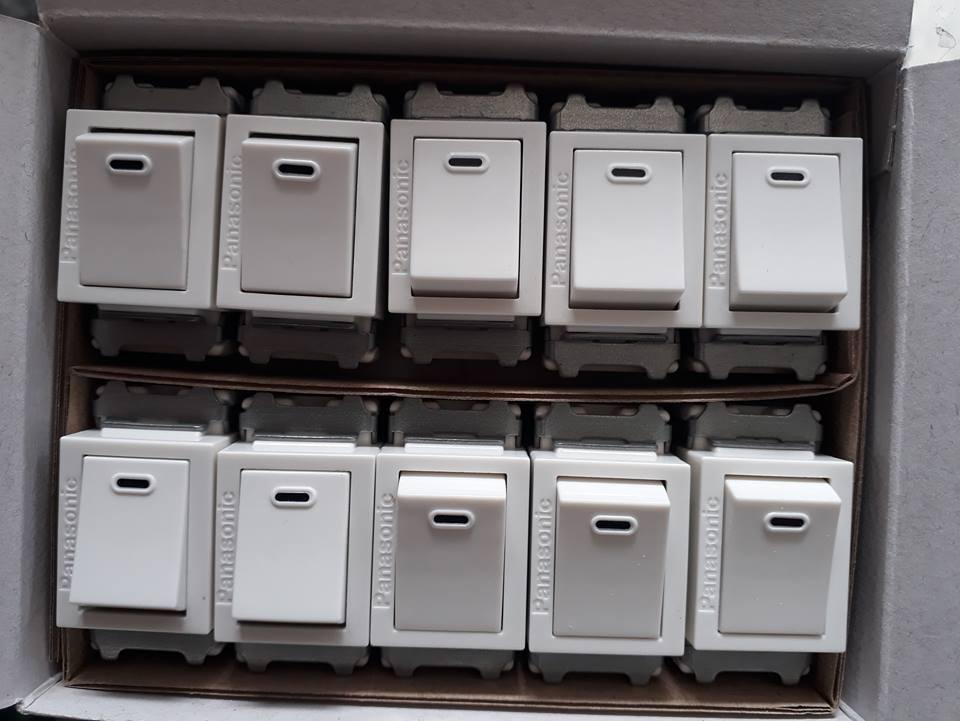 Hình ảnh Công tắc Panasonic WNV 5001-7W(10 cái/hộp