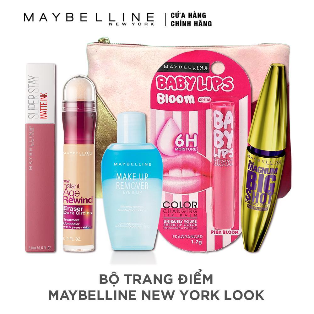 Hình ảnh Bộ sản phẩm trang điểm Maybelline New York Look