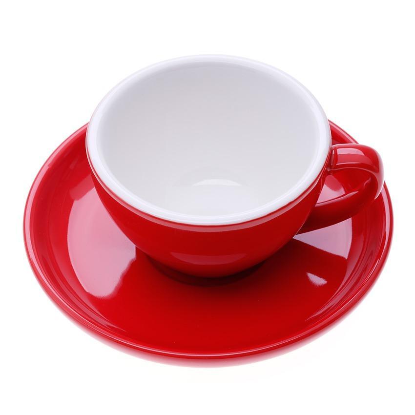 Ly tách cappuccino dành cho pha máy AnniCoffee (Đỏ)