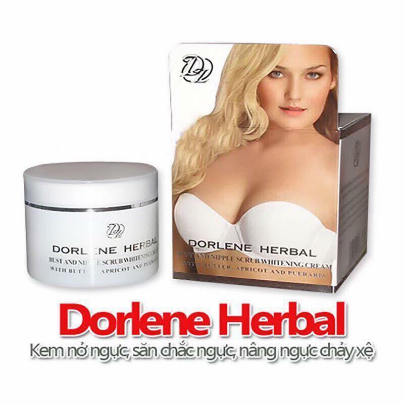 Kem nở ngực Dorlene Herbal Thái Lan có hạt masaage dành cho ngực làm săn chắc nâng ngực chảy xệ - HX2024 - chăm sóc cơ thể - chăm sóc ngực nhập khẩu