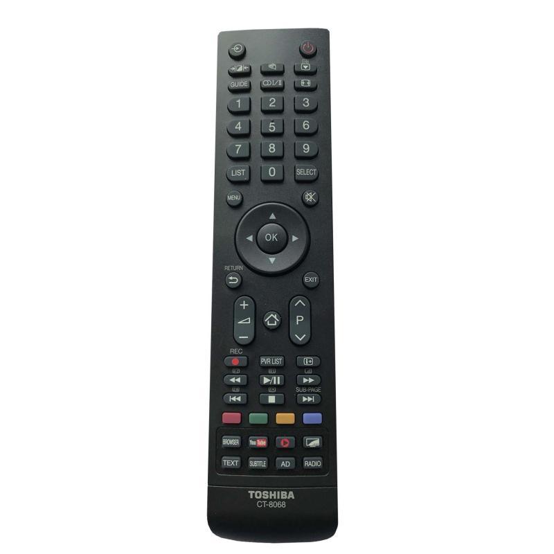 Bảng giá Điều khiển smart tivi Toshiba internet CT-8068 xịn (Đen)
