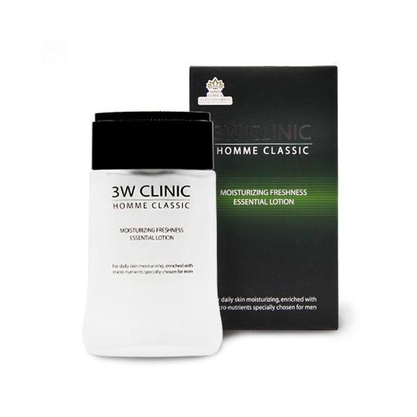 Set Bộ 2 sản phẩm dưỡng trắng da nam 3W CLINIC HOMME Classic