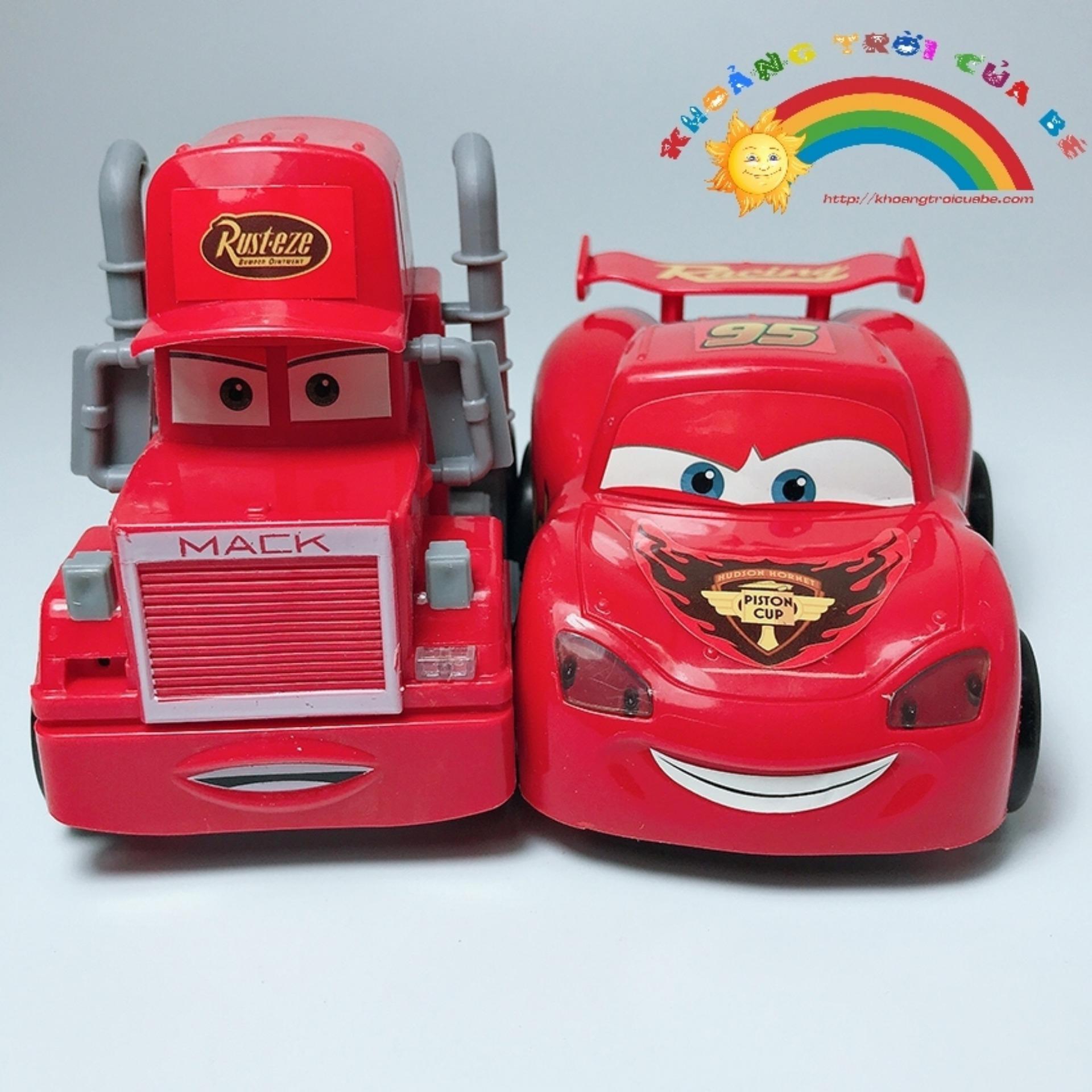 Hình ảnh Mô hình 2 xe McQueen Racing Car KA60