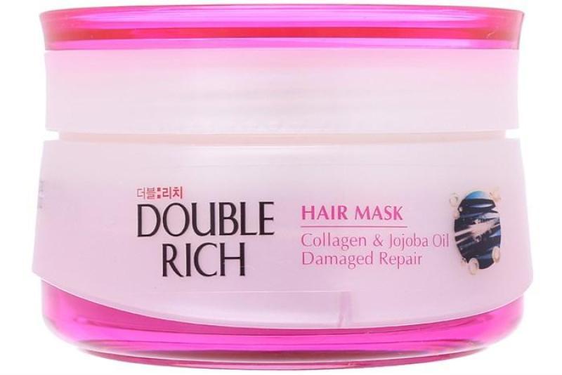 Kem ủ Double Rich Collagen và Jojoba oil Phục hồi tóc 150g Hồng nhập khẩu