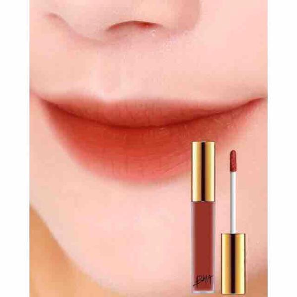 Son kem Bbia Last Velvet Lip Tint Màu 12 #cam pha #nâu #đỏ siêu đẹp cao cấp