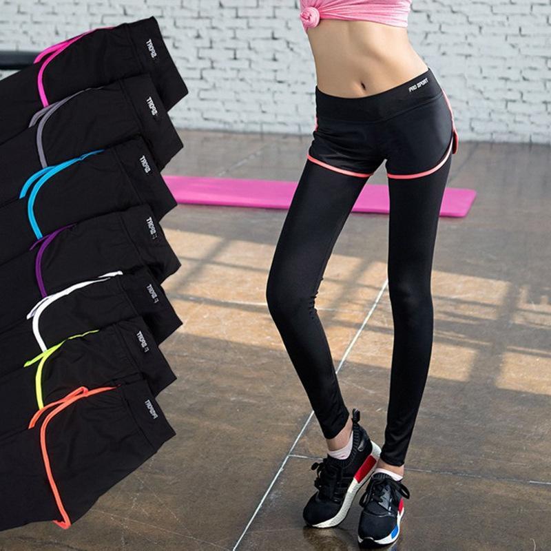 Quần tập gym , quần tập yoga , quần thể thao dáng dài 2 lớp cao cấp tại gian hàng Shoptienich92