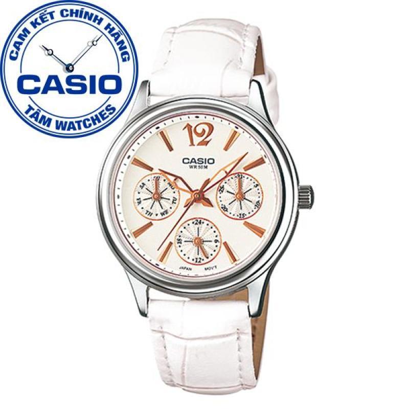 Đồng hồ nữ dây da Casio Standard Anh Khuê LTP-2085L-7AVDF