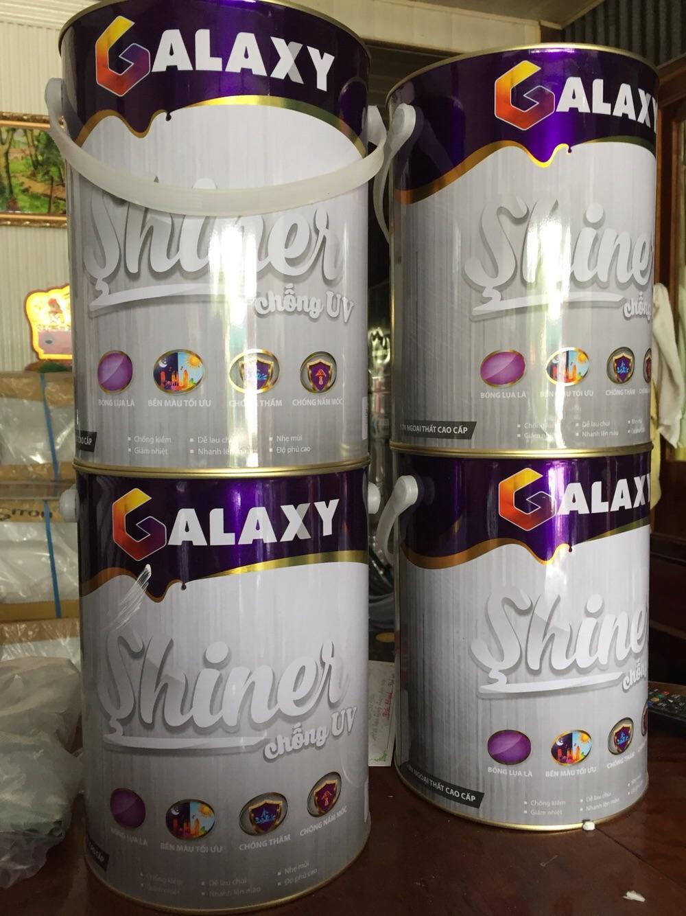 Hình ảnh Sơn nước Galaxy Shiner chống UV