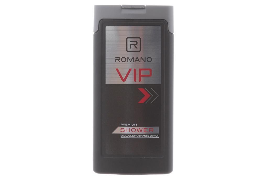 Sữa tắm Romano Vip Premium chai 150g