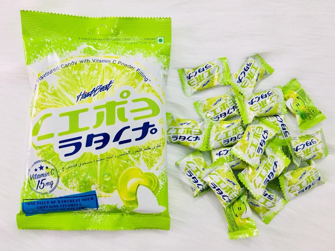 Hình ảnh Kẹo chanh muối thái lan 120g bổ sung vitamin C