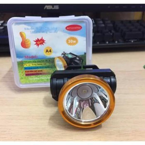 Đèn Led Đội Đầu Siêu Sáng A4 Pin Sạc - ánh sáng trắng siêu sáng - BẢO HÀNH 1 ĐỔI 1
