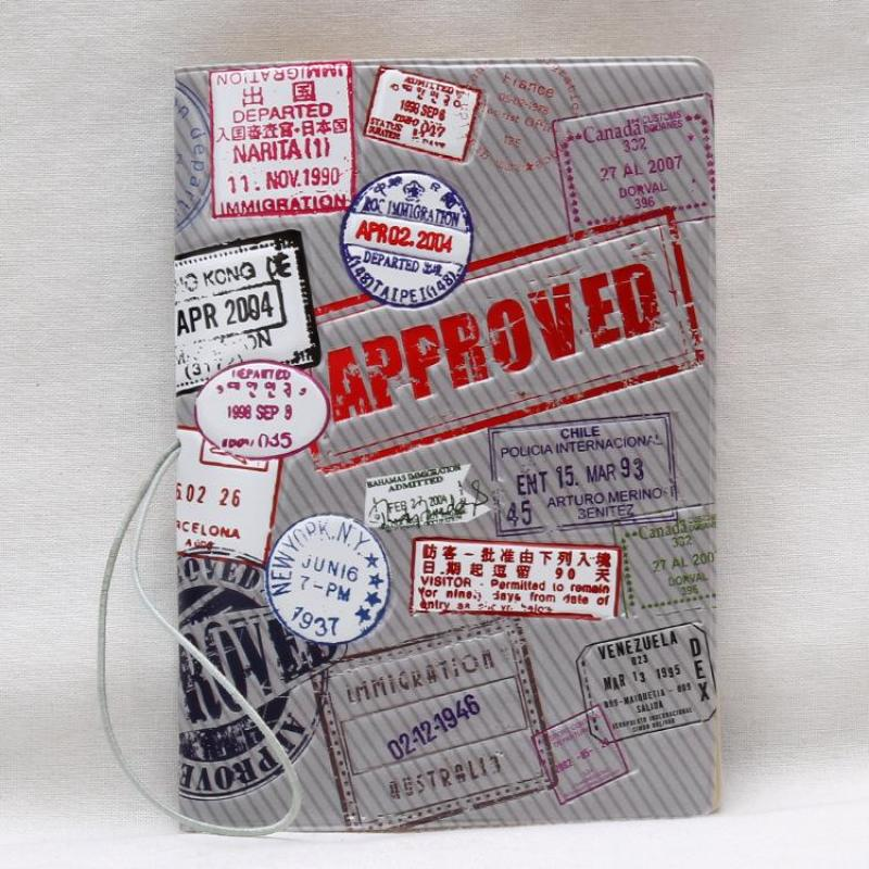 Bao Passport 3D Họa Tiết Con Dấu Xuất Cảnh, Kaya Accessories