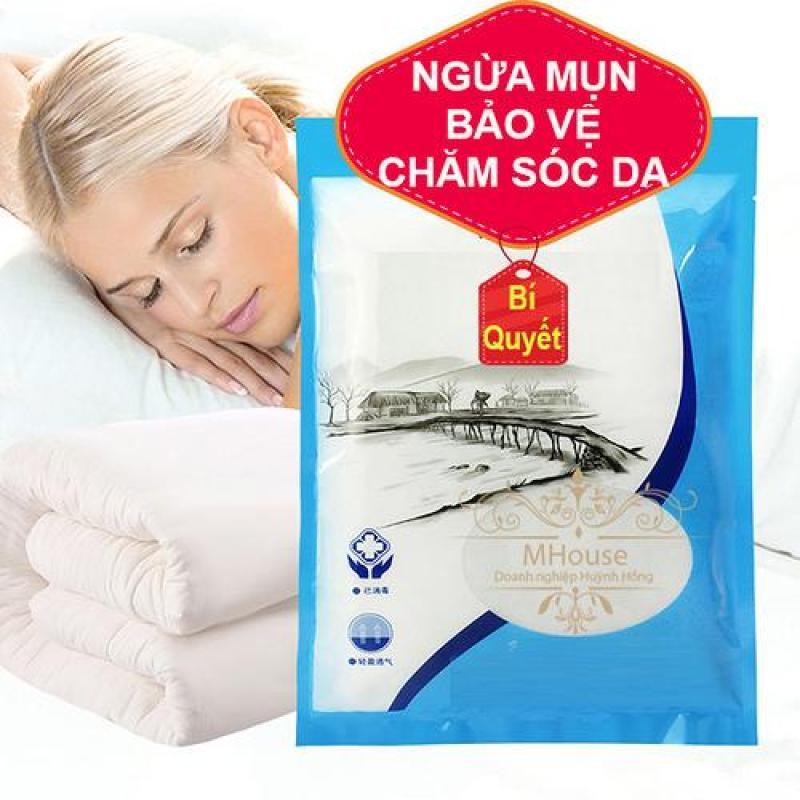 Combo 3 áo gối ngừa mụn, bảo vệ, chăm sóc da mặt
