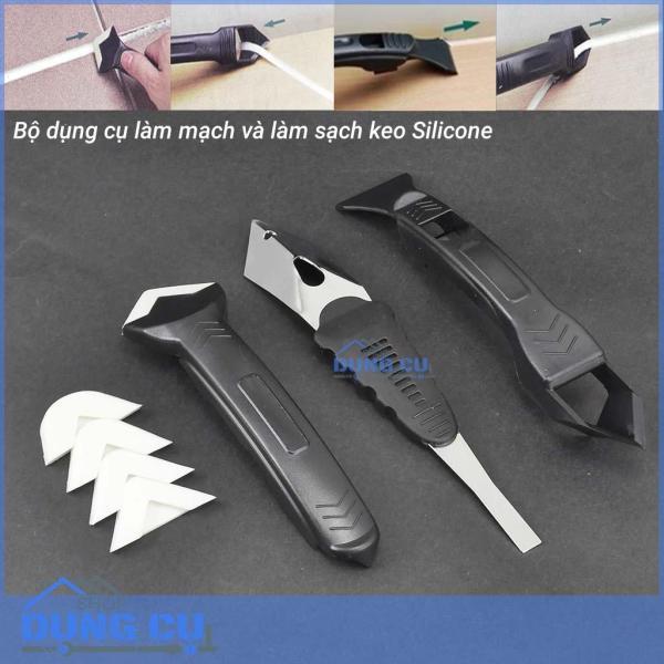 Trọn bộ làm mạch keo silicone chuyên dụng