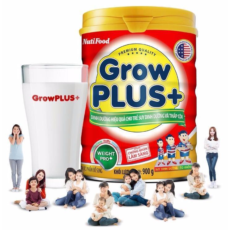 Cửa Hàng Sữa Bột Cho Trẻ Suy Dinh Dưỡng Va Thấp Coi Nutifood Grow Plus 900G Nutifood Trực Tuyến