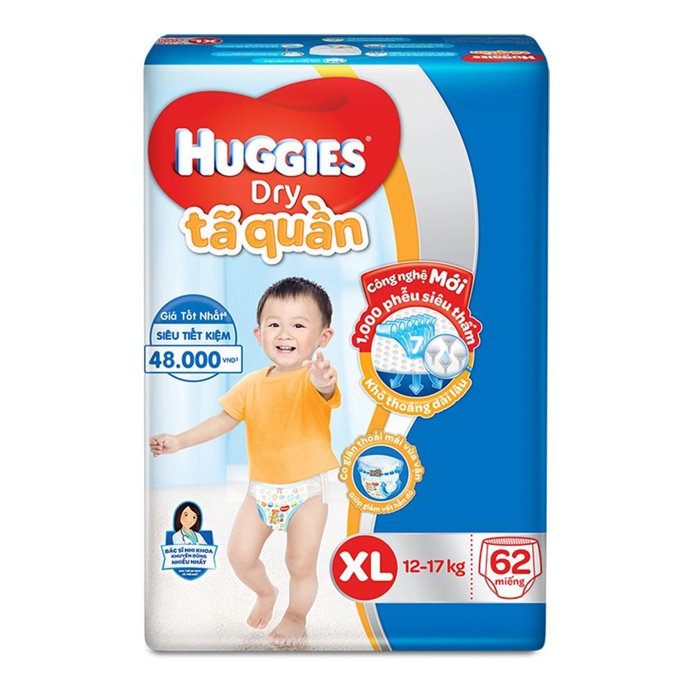 Ôn Tập Tả Quần Huggies Xl62 Huggies