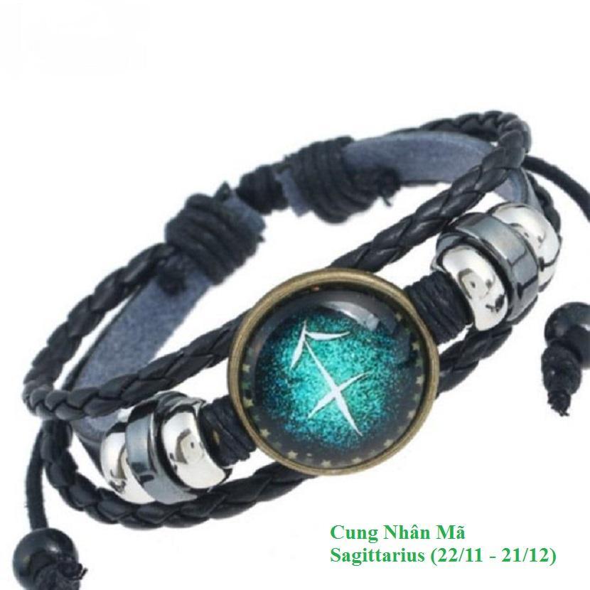 Hình ảnh Mẫu 04- Vòng đeo tay 12 cung hoàng đạo Cung Nhân Mã -Sagittarius ( 22/11 - 21/12)