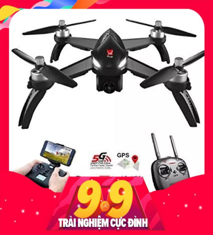 Flycam MJX bugs 5W GPS, follow me , truyền hình ảnh về điện thoại, camera 1080P xoay góc, GPS, TỰ ĐỘNG QUAY VỀ, CÓ CHẾ ĐỘ ĐI THEO NGƯỜI