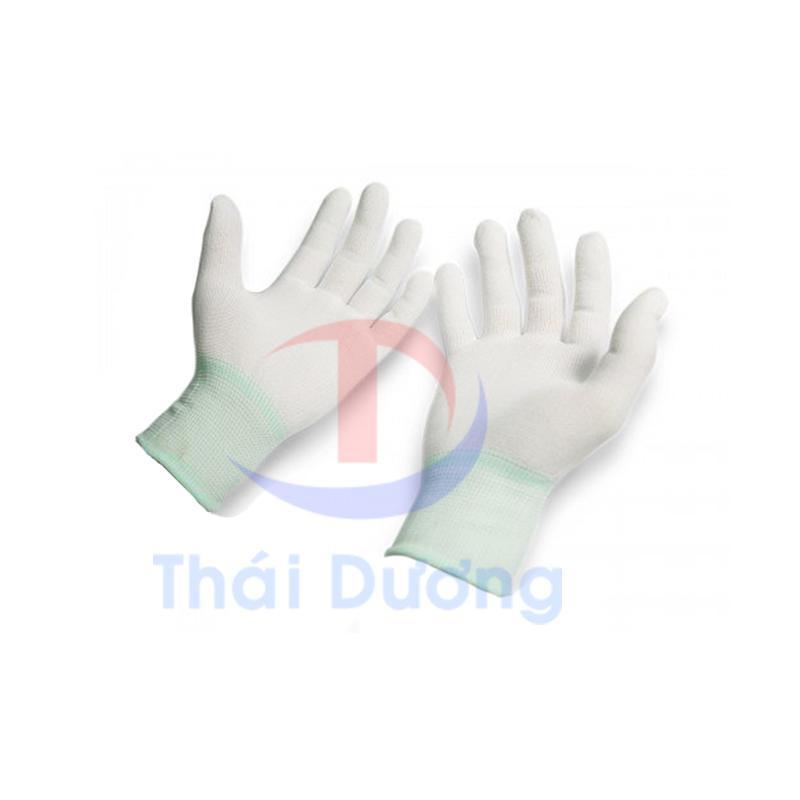 Hình ảnh Combo 10 đôi găng tay phòng sạch PU phủ ngón size M_BHLD Thái Dương