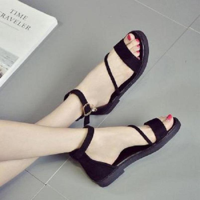Giày sandal ngang chéo cổ chân 1 dây - SD-0139 giá rẻ