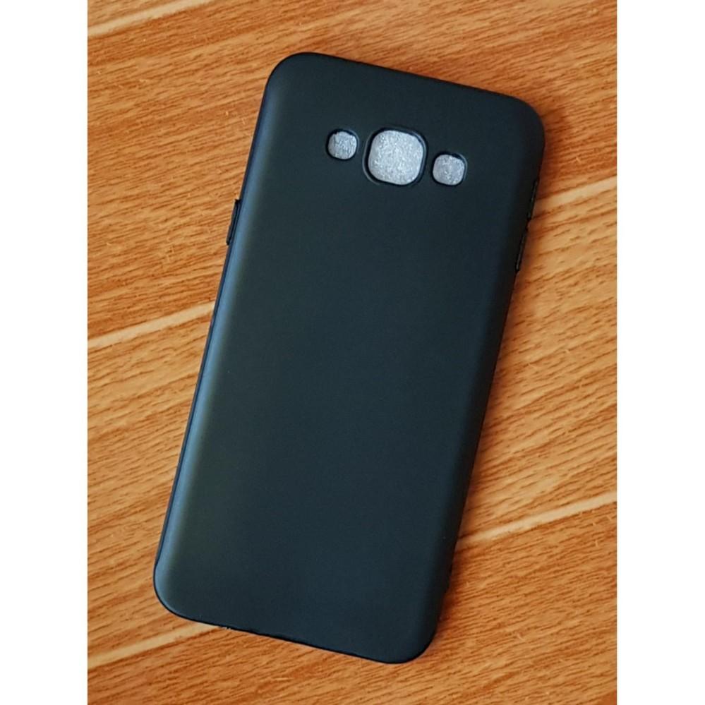 Ốp Lưng Samsung Galaxy A8 2015 Dẻo Đen TPU Cao Cấp