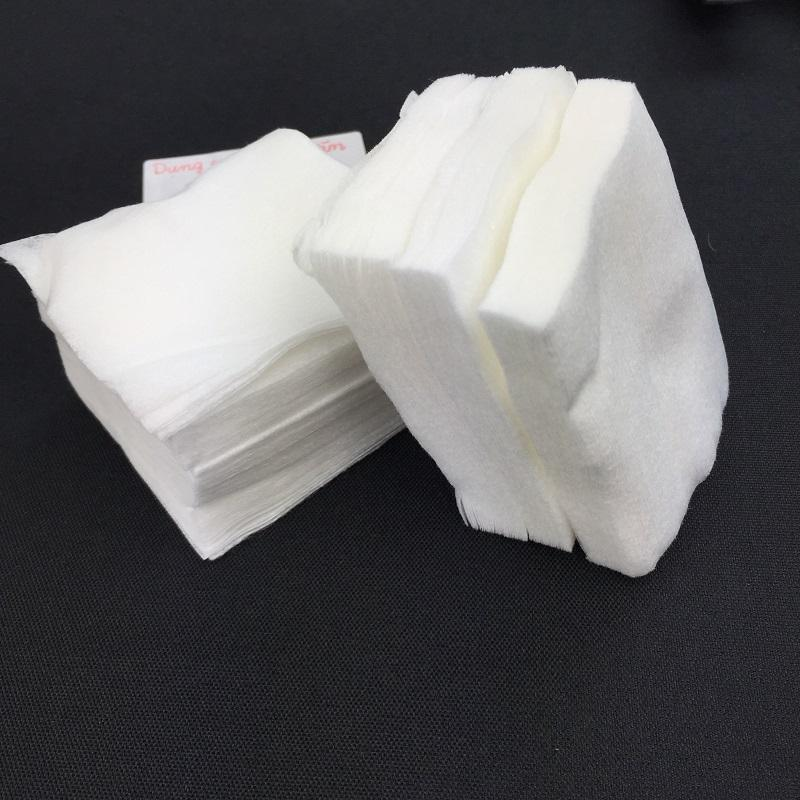 Bông Cotton 1200 Miếng Tẩy Trang, Lau Mực Khi Phun Xăm