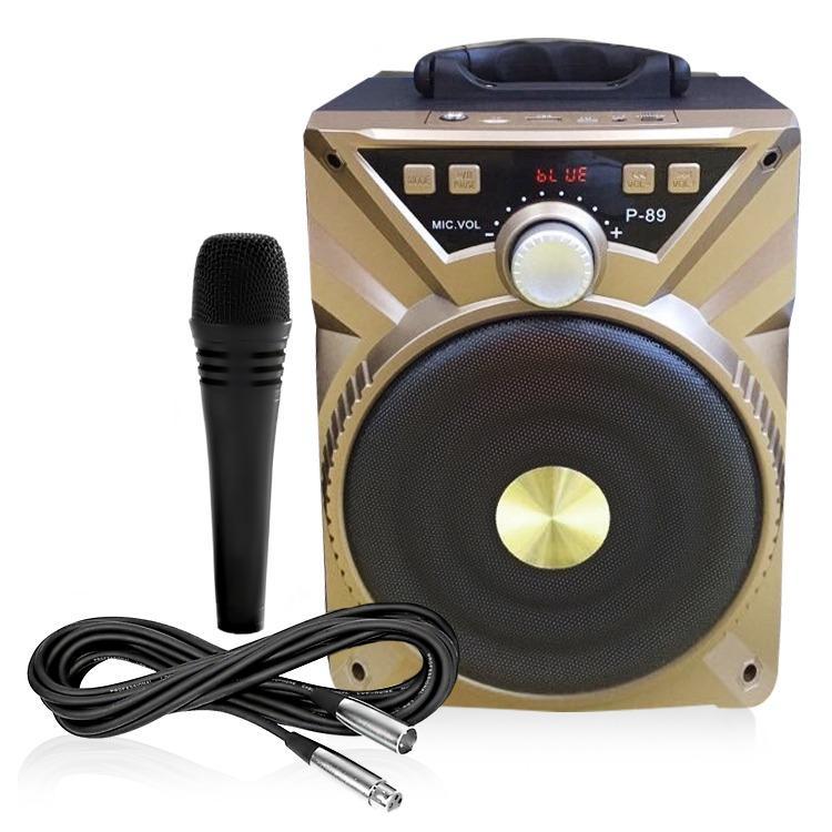 Bán Loa Bluetooth Karaoke Di Động P89 P88 P87 P86 Am Thanh Hay Mau Sắc Ngẫu Nhien Oem