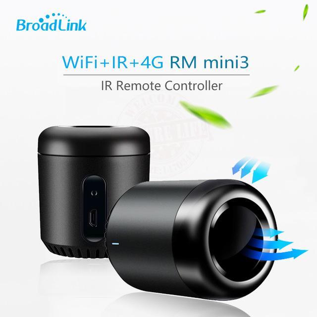 Hình ảnh Trung tâm điều khiển hồng ngoại nhà thông minh Broadlink RM Mini 3