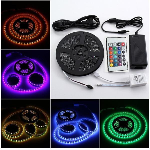 Bảng giá Bộ đèn LED dây dán 5050 5m phủ keo silicon đổi đủ màu V-L-D-RGB
