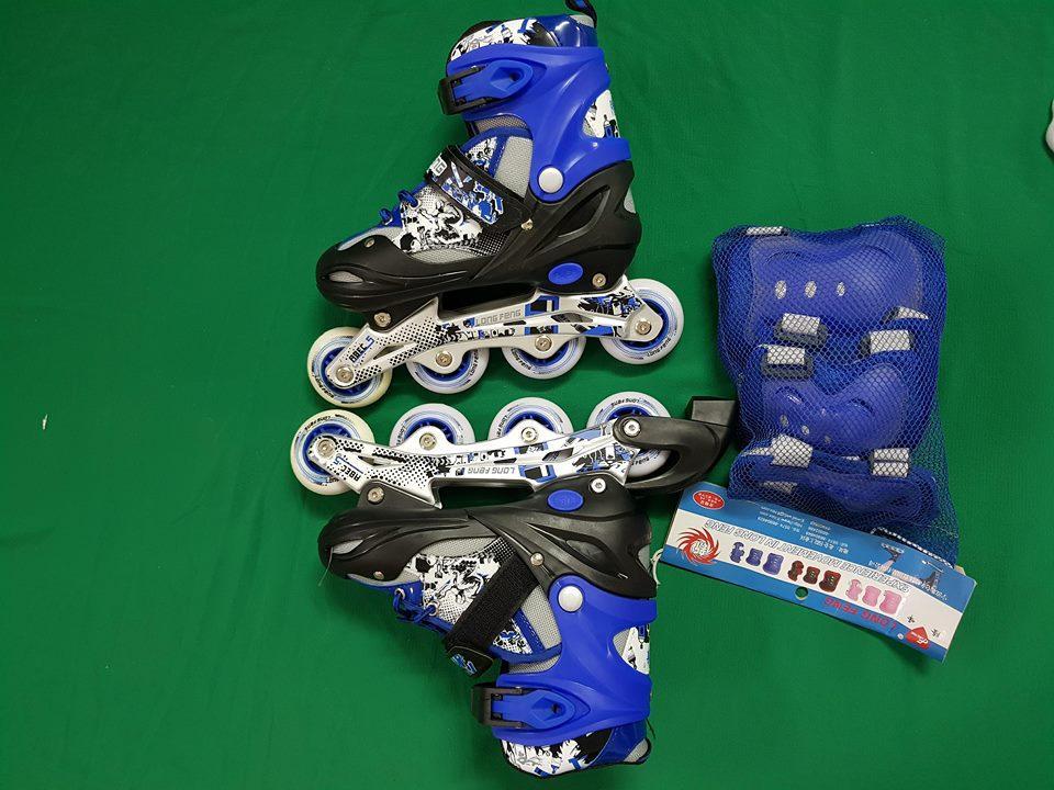 giầy trượt PATIN LONG-FENG 906 cao cấp ( có đèn )