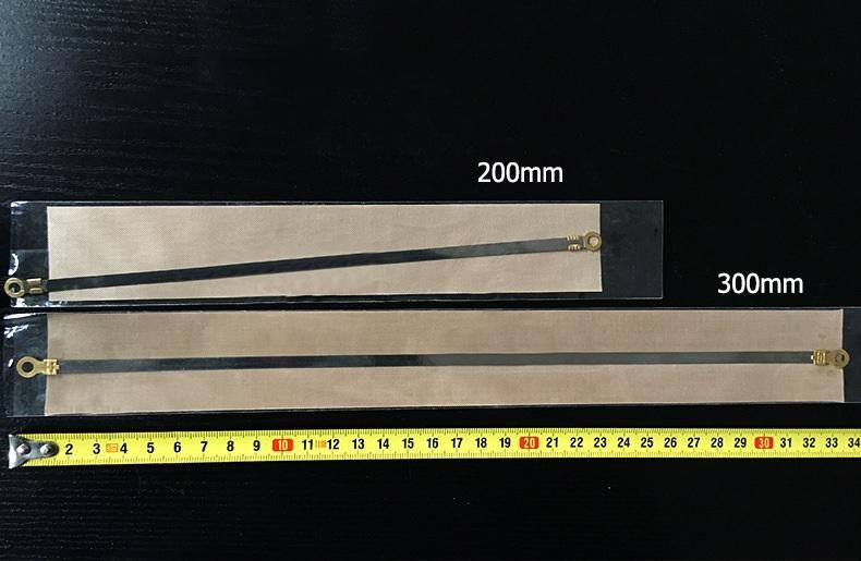 5 bộ dây nhiệt và màng chống dính thay thế máy ép miệng túi nhựa nilon 300x5mm