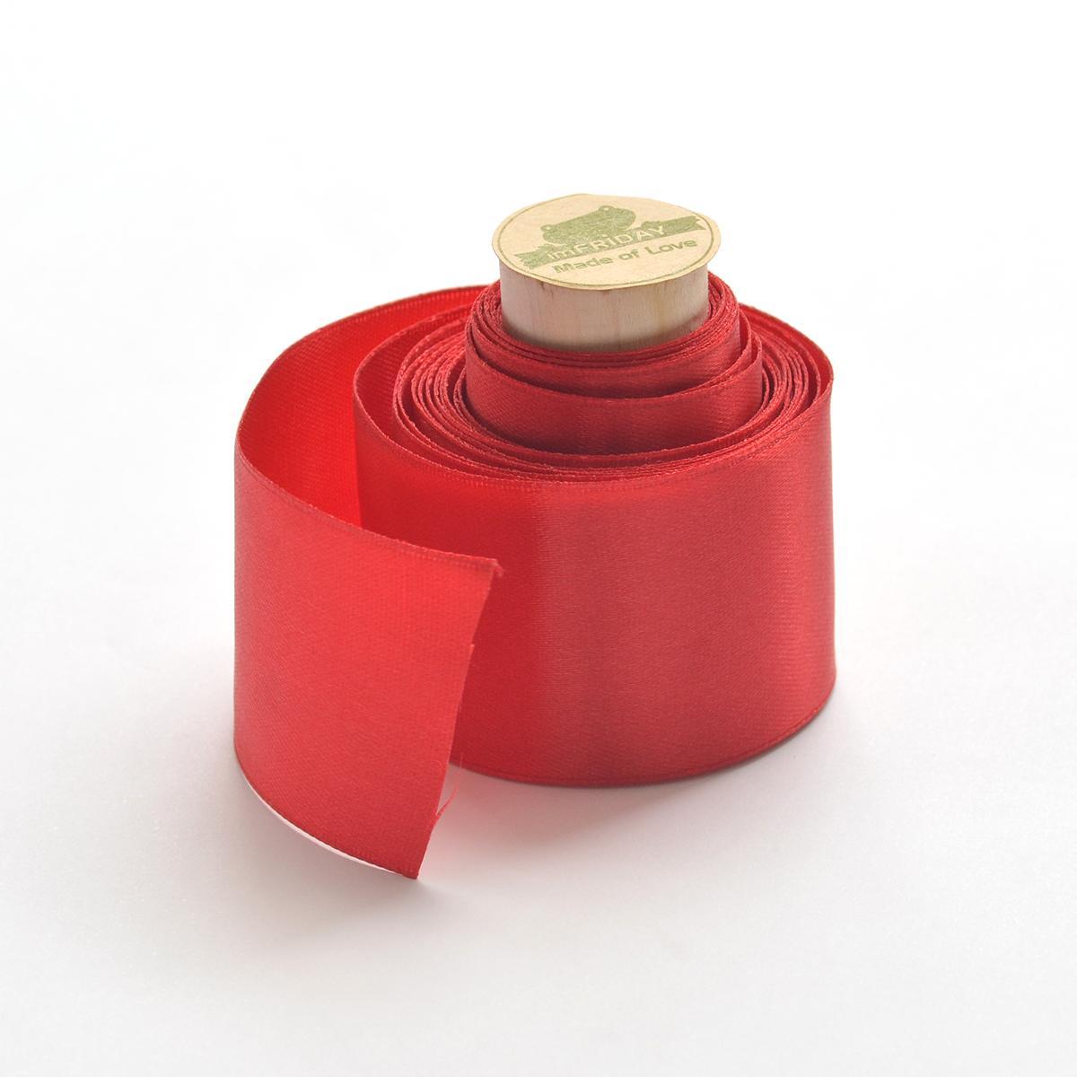 Tiết Kiệm Cực Đã Khi Mua 3m Ruy Băng  Lụa đỏ 4cm RB39