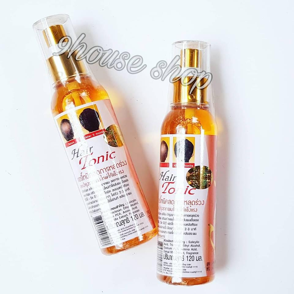 01 Chai Tinh Dầu Xịt Mọc Tóc GENIVE Thái Lan 120ml (Tonic Hair) nhập khẩu