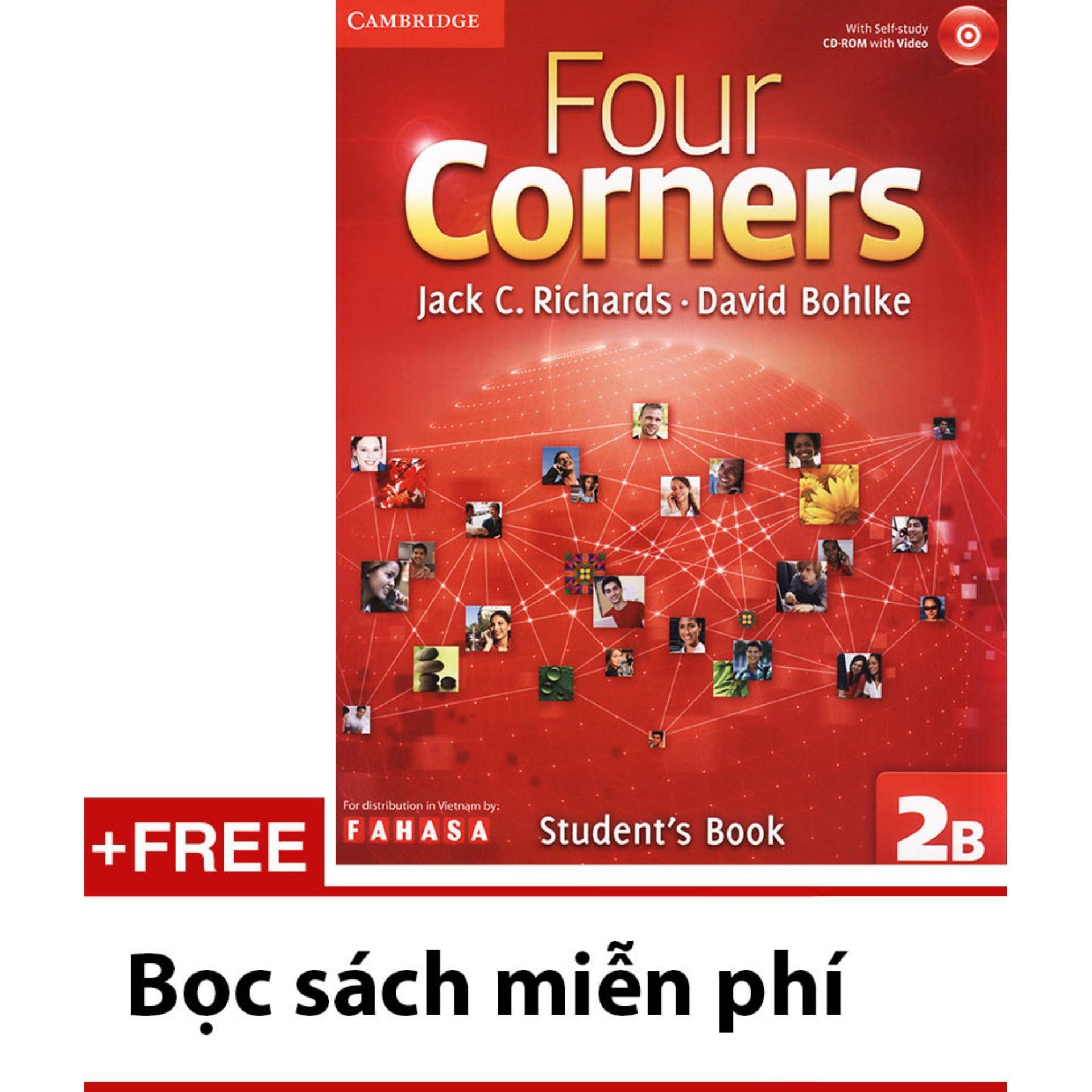 Mua Four Corners 2B - Students book (kèm 1 CD)