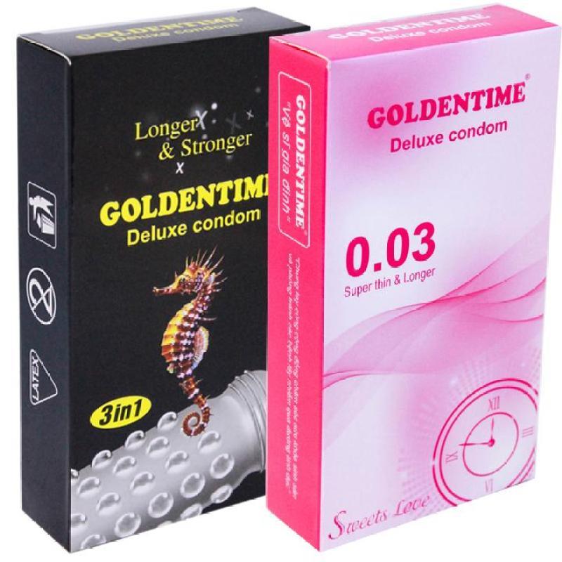 Bộ 24 bao cao su Goldentime Kéo dài thời gian