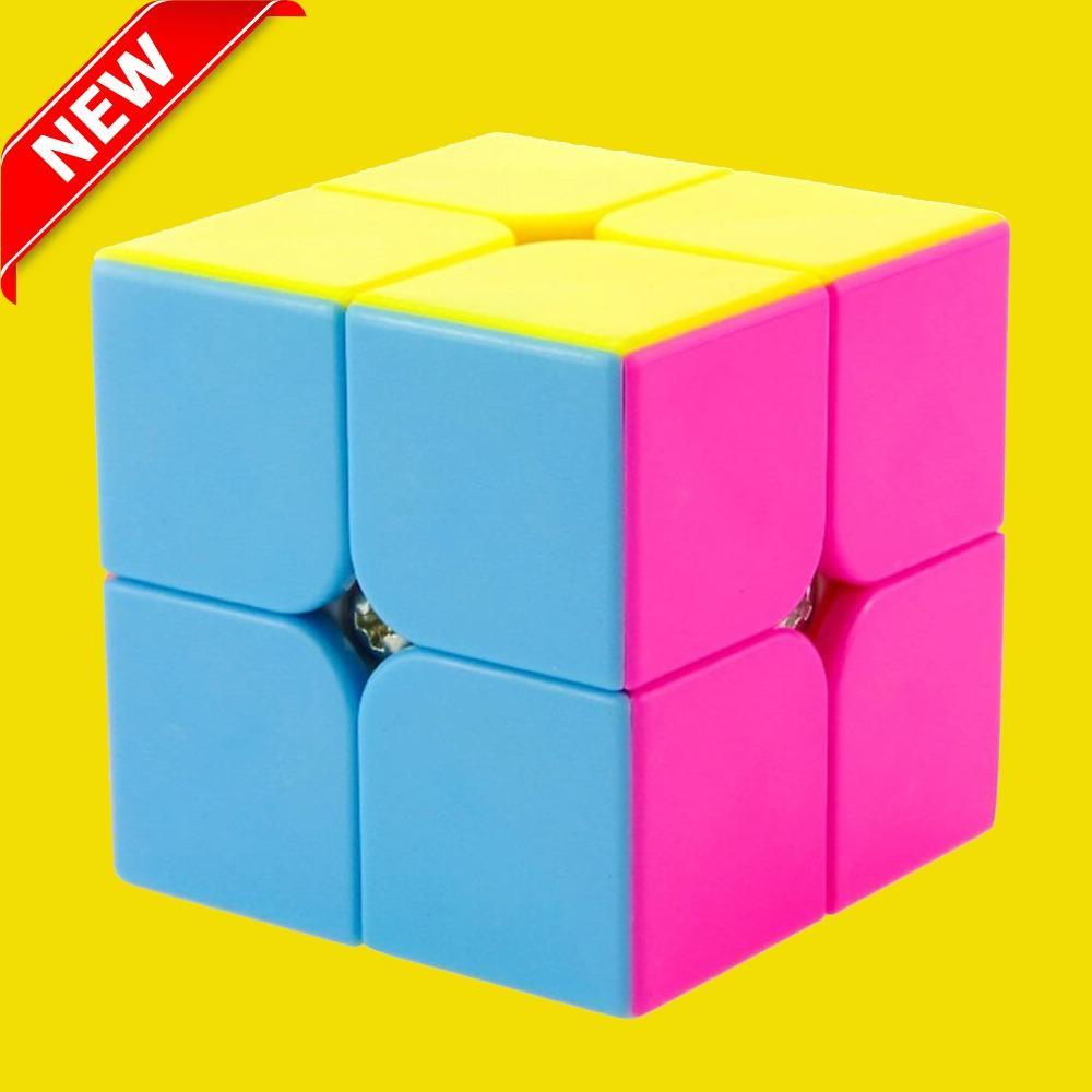 Hình ảnh Đồ Chơi Rubik 2x2 Dạ Quang Cao Cấp - XUAY SIÊU MƯỢT