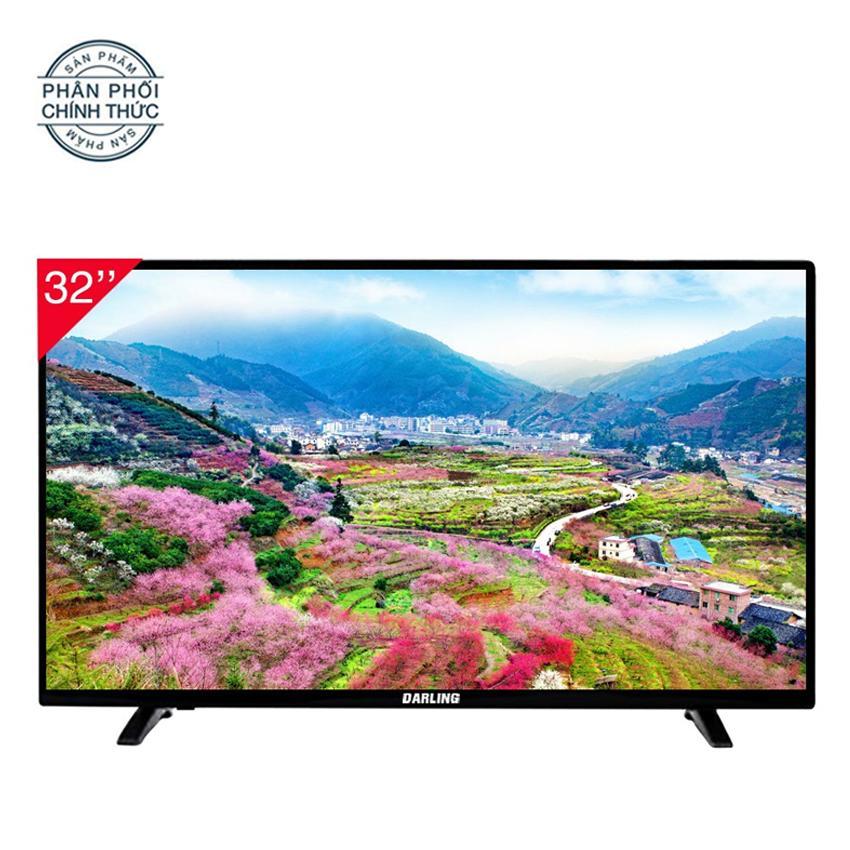 Bảng giá Tivi Led 32 inch Darling HD - Model 32HD957 (Đen) (2018)