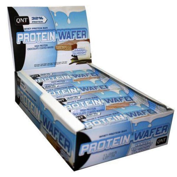 QNT Whey Protein Bar vị Yoghurt Vanilla 12 x 35g